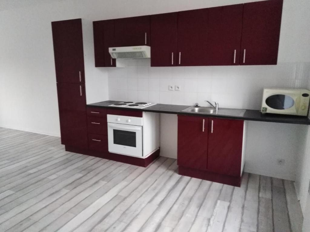 A louer Guemene sur Scorff Bretagne Morbihan Appartement de type 3 surface 55 m²
